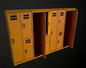 3D asset realtime modular lockers