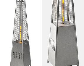 Hanover Modern Pyramid Propane Patio Heater 3D