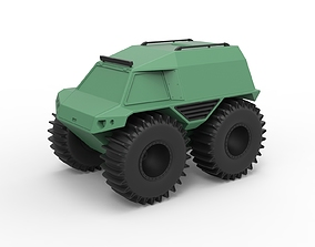 Diecast model THOR Ultimate ATV Scale 1 to 24