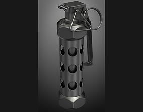 grenade M84 subdivison ready 3D