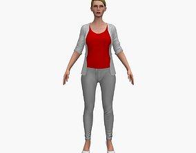 3D asset Female V2