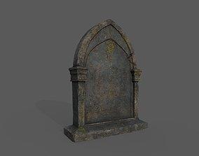 3D model Tombstones Bloodborne Style