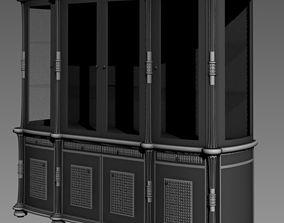 3D asset game-ready dresser Cupboard