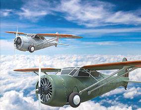Curtiss f 3D asset