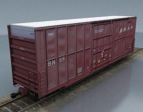 rail wagon 1 3D model