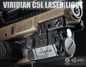 3D asset Viridian C5L Laser - light