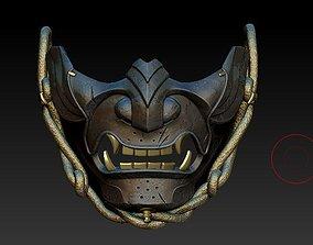 gaming ghost of tsushima mask 3d print