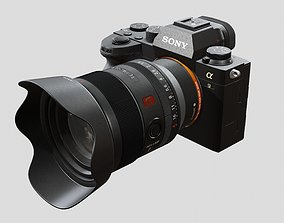 Sony A9 II with Lens 3D animated
