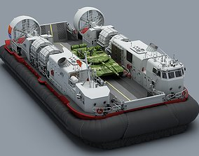 sea 3D High Detail Chinese Type 726 LCAC