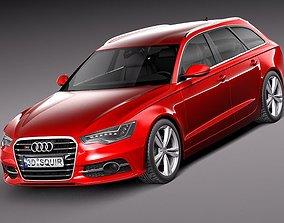 Audi S6 Avant 2013 3D model