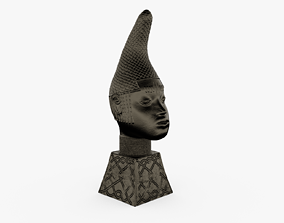 3D print model Queen Iyoba Head Sculpture