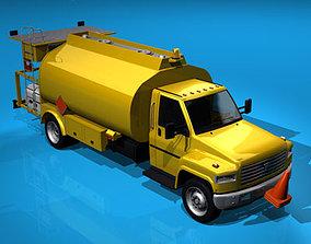 Airport fuel truck 3D