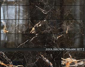 Yurtbay Seramik Java Brown 300x600 Set 2 3D