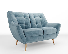 3D Scandi sofa