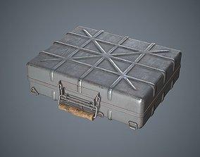 Container Ammunition Grey 3D asset