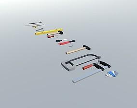 3D model Various Tools Pack