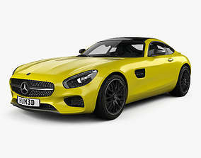 Mercedes-Benz AMG GT with HQ interior 2014 3D