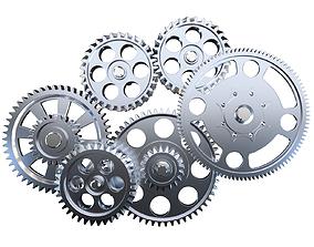 Gear mechanism v3 3D
