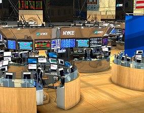 3D New York Stock Exchange