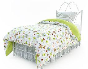 room 3D model Children Bed
