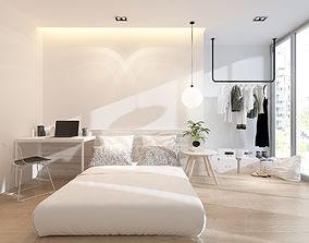 3D model Master bedroom wardrobe