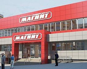 russian shop magnit 3D asset