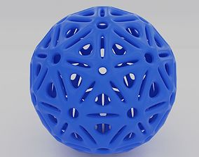 3D print model ball with holes