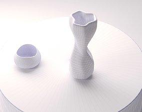 3D print model Tom Dixon Warp vase