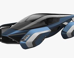 Hover car concept 3 3D model