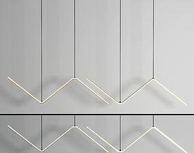 3D model Zigzag Pendant Light