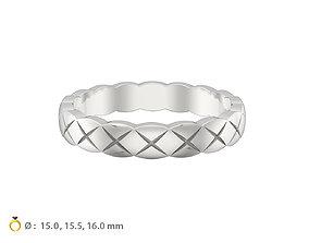N071 wedding ring mini 3D printable model