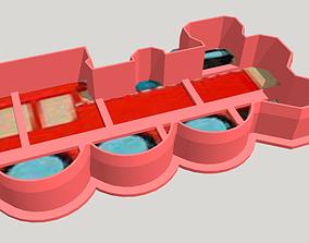Train Cookie Cutter 3D print model