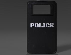 Riot Shield 3D pbr