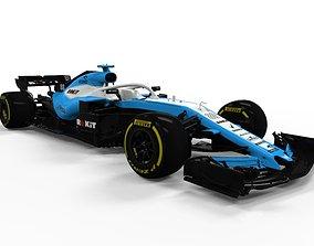 Williams F1 2019 FW42 3D asset VR / AR ready