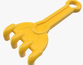 3D asset Toy Rake