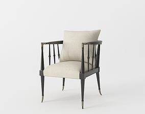 Leone Accent Chair 3D model