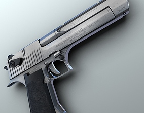 Desert Eagle Hi-Res 3D model