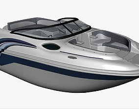 Motor Boat 3D model PBR