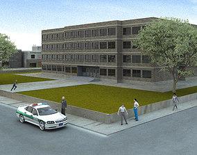 3D model American High School