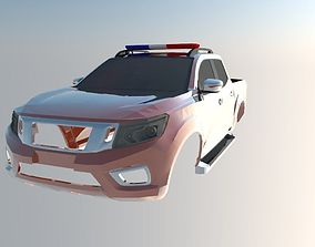 3D printable model Nissan Frontier 2017