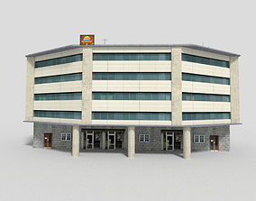 office city building 3 3D model