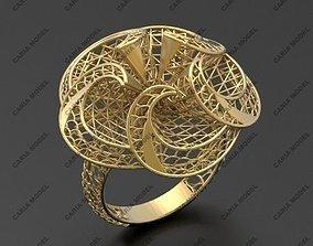 Ultra vision Ring STL 3d model for 3d printing 0046
