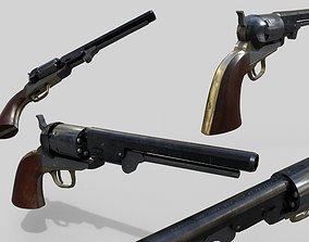 3D model Colt 1851 Navy