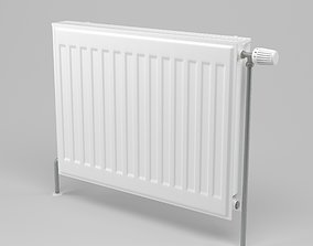 Radiator hvac-equipment 3D