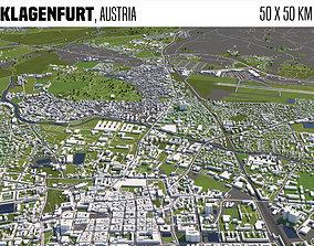 3D model Klagenfurt Austria 50x50km