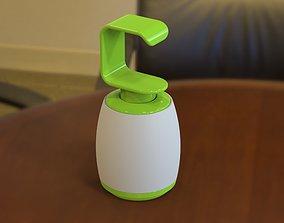 Liquid Hand Wash Dispenser codiv-19 3D printable model