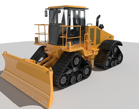 3D model High Speed Dozer