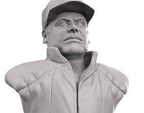 El Chapo 3D printable portrait sculpture el-chapo-bust