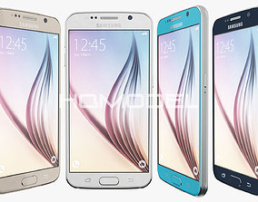 Samsung Galaxy S6 All Color 3D model