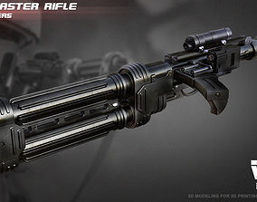E-22 Blaster Rifle 3D print model